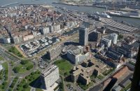 project site Residentie Queens I - II Oostende